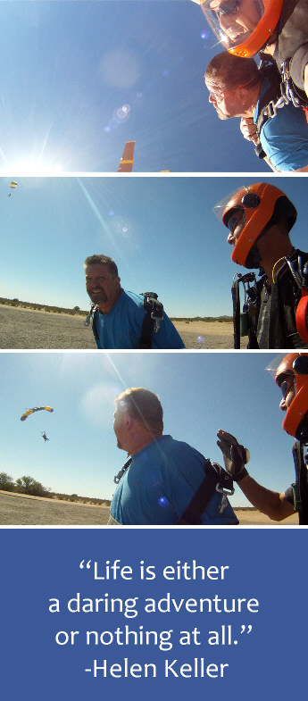 Tandem-skydive adventure