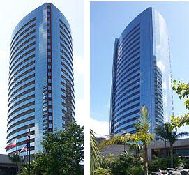 San Diego Marriott towers